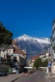Meran, South Tyrol. Street in Meran, South Tyrol Royalty Free Stock Photo