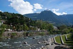 Meran, Trentino-Alto Adige, Italy. Meran in the region Trentino-Alto Adige, Italy royalty free stock images