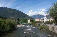 Meran, Trentino-Alto Adige, Italy. Meran in the region Trentino-Alto Adige, Italy royalty free stock photos