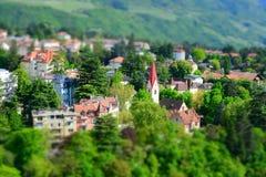 Meran, Trentino-Alto Adige, Italy. Meran in the region Trentino-Alto Adige, Italy royalty free stock photo