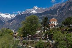 Meran, Tyrol du sud Photographie stock libre de droits