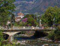 Meran, Tyrol du sud Photos libres de droits