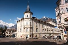 Merano, Bolzano, Alto Adige, Italia fotografia stock libera da diritti