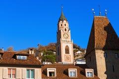 Merano - Bolzano Trentino Italie Photo stock