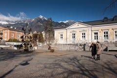 Merano, Bozen, Alto Adige, Italien lizenzfreies stockfoto