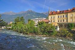 Merano, el Tyrol del sur Imagen de archivo