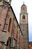 Merano el Tyrol del sur, Italia, la catedral Foto de archivo