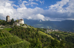 Merano,Italy. View of the castle, Merano, South Tyrol, Italy Royalty Free Stock Images