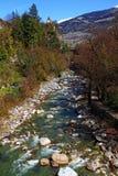 Merano river Royalty Free Stock Image