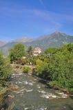 merano södra tyrol Arkivfoto