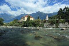 Merano scenery Royalty Free Stock Image