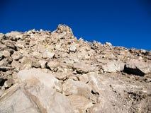 Merapi岩石 库存图片