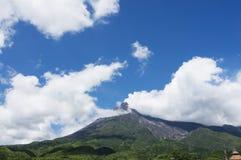 Merapi berg Fotografering för Bildbyråer