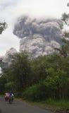 Merapi eruption Royalty Free Stock Images