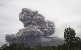 Merapi eruption Stock Photo