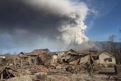 Merapi eruption Royalty Free Stock Image