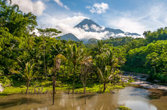 Merapi Volcano Royalty Free Stock Photos