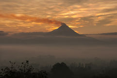 Merapi volcano Stock Photos
