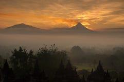 Merapi volcano Royalty Free Stock Image