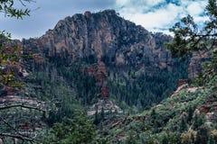 Meraviglia alle meraviglie naturali di Sedona Arizona U.S.A. Fotografie Stock Libere da Diritti