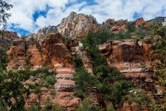 Meraviglia alle meraviglie naturali di Sedona Arizona U.S.A. Immagini Stock Libere da Diritti