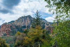 Meraviglia alle meraviglie naturali di Sedona Arizona U.S.A. Fotografia Stock