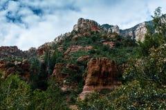 Meraviglia alle meraviglie naturali di Sedona Arizona U.S.A. Fotografie Stock