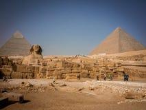 Meraviglie del mondo, piramide immagini stock libere da diritti
