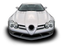 Merc SLR Front end Stock Image