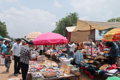 Mercado-Índia de Sanday Imagem de Stock Royalty Free