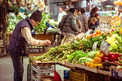 mercado Foto de Stock