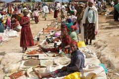Mercado africano Foto de archivo