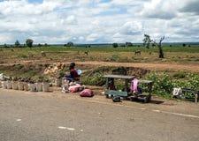 Mercado africano fotos de archivo