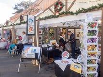 Mercado alemán del día de fiesta Fotos de archivo libres de regalías