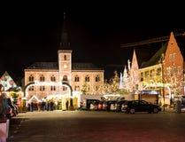 Mercado alemán tradicional de la Navidad Imagen de archivo