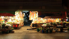Mercado ao ar livre fresco da flor em Korat Imagem de Stock Royalty Free