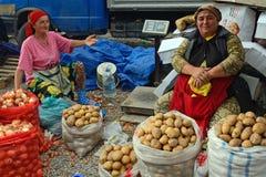 Mercado, Baku, Azerbaijão imagem de stock