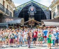 Mercado Barcelona del St José imagen de archivo libre de regalías