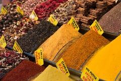 Mercado bizzaar magnífico de la especia foto de archivo