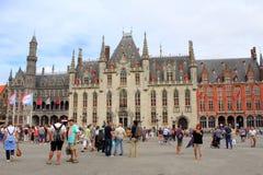 Mercado Bruges Bélgica Imagens de Stock