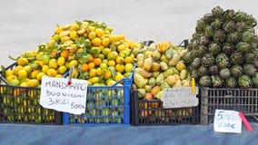 Mercado callejero Foto de archivo