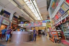 Mercado callejero central Kuala Lumpur Malaysia fotografía de archivo