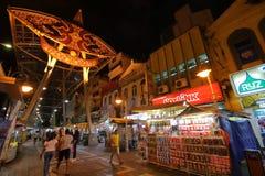 Mercado callejero central Kuala Lumpur Malaysia fotografía de archivo libre de regalías