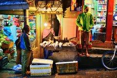 Mercado callejero de Katmandu Imagenes de archivo