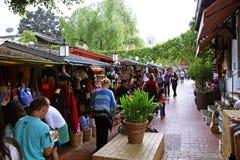 Mercado callejero de Olvera Imagen de archivo libre de regalías