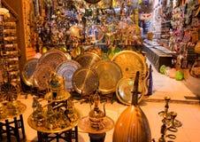 Mercado callejero en Egipto Viejo mercado Sharm el-Sheikh Imágenes de archivo libres de regalías