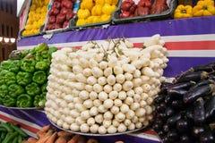 Mercado callejero en Egipto Viejo mercado Sharm el-Sheikh Foto de archivo