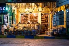 Mercado callejero en Egipto Viejo mercado Sharm el-Sheikh Fotos de archivo