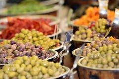 Mercado callejero internacional 2014 Imágenes de archivo libres de regalías