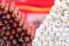 Mercado callejero internacional 2014 Imagen de archivo libre de regalías